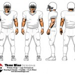 Vector Football Players